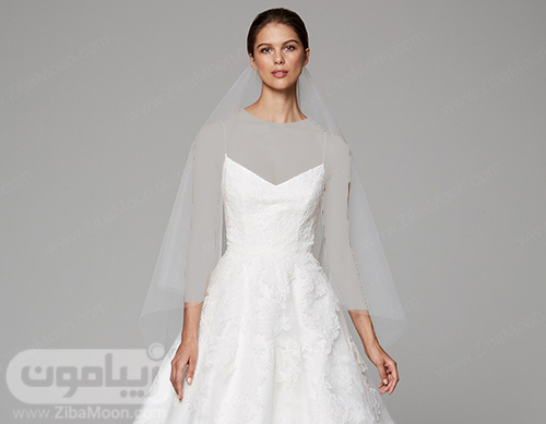 مدل تور عروس تا مچ دست