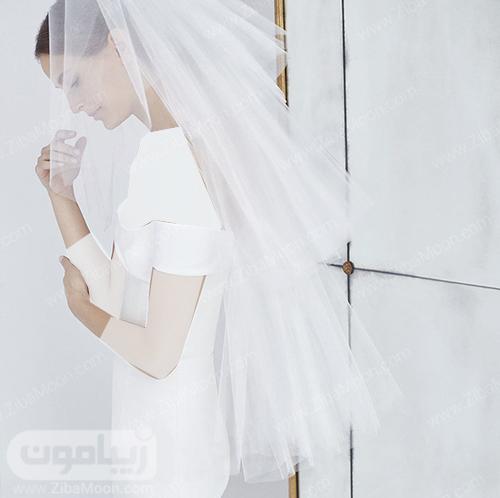 مدل تور عروس ساده و چند لایه