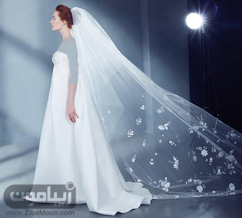 مدل تور عروس بلند