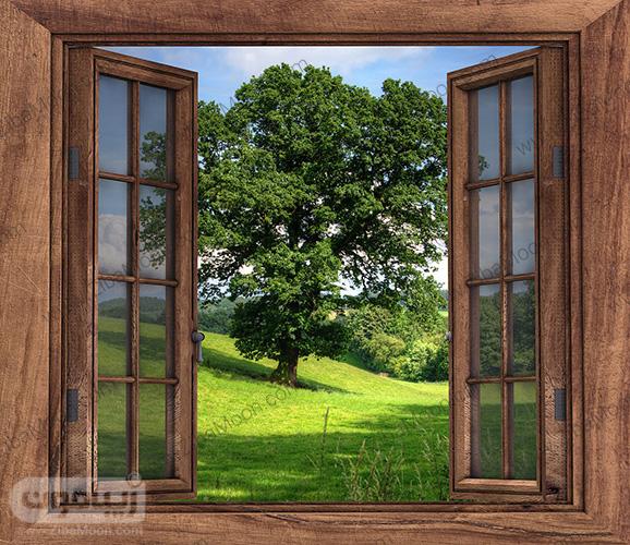 باز کردن پنجره