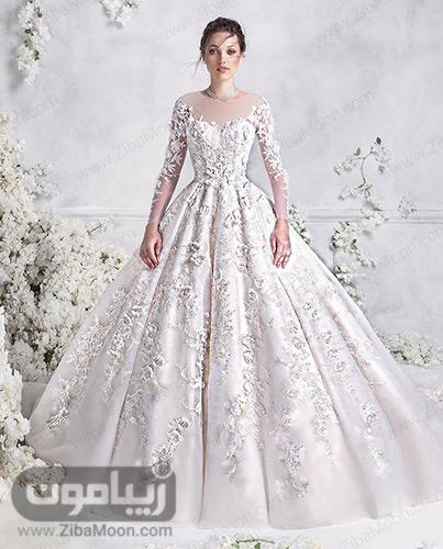 لباس عروس باشکوه