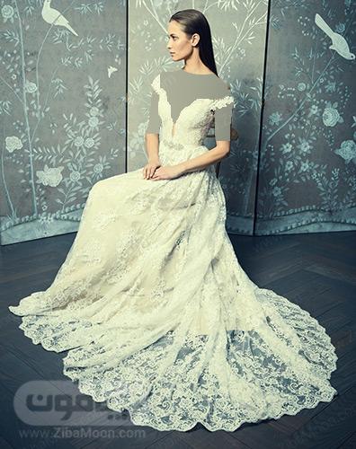 لباس عروس تمام گیپور