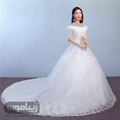 لباس عروس دامن پف