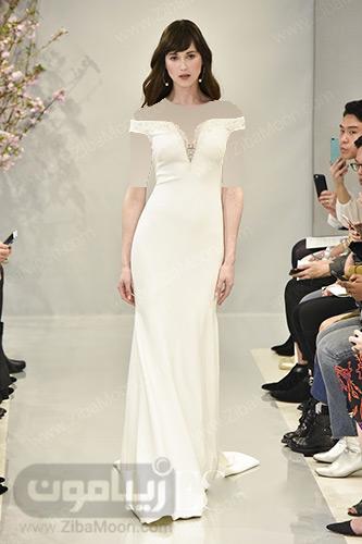 لباس عروس راسته شیری رنگ