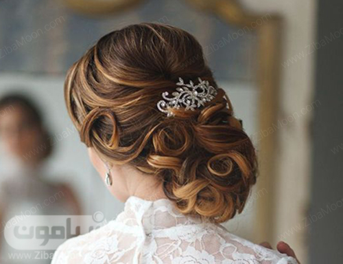 مدل مو عروس جذاب و شیک