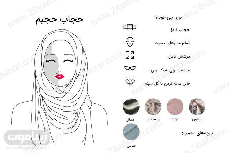 مدل حجاب حجیم