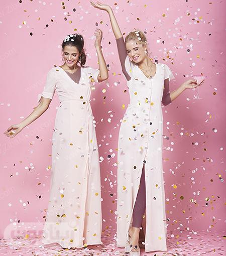 ساقدوش عروس با لباس سفید