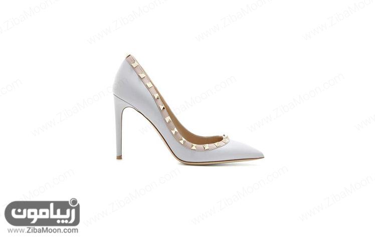کفش عروس ساده و شیک
