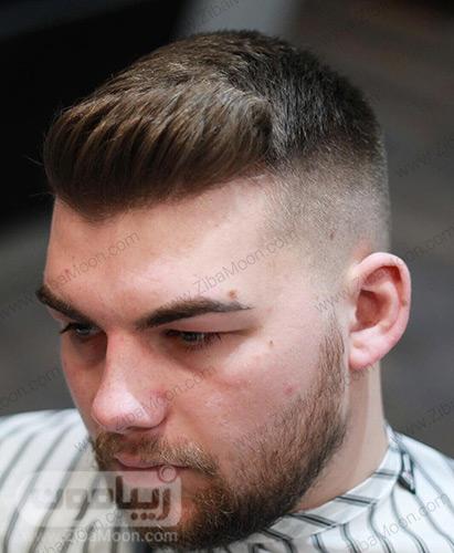 مدل موی دامادی برای موهای کم پشت