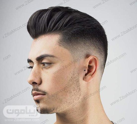 مدل موی مرتب و پف دار