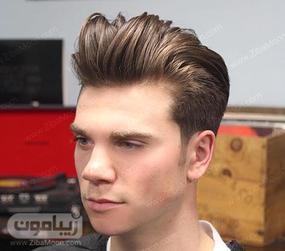 مدل موی مردانه نسبتا بلند