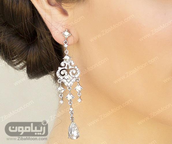 گوشواره آویز عروس