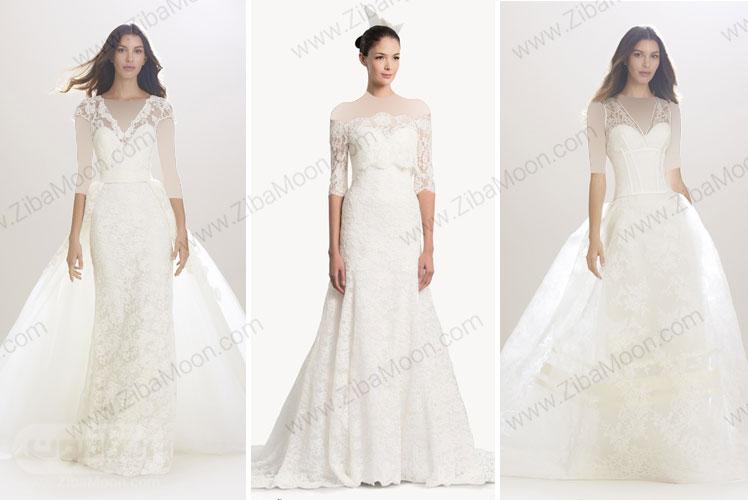 لباس عروس Carolina Herrera