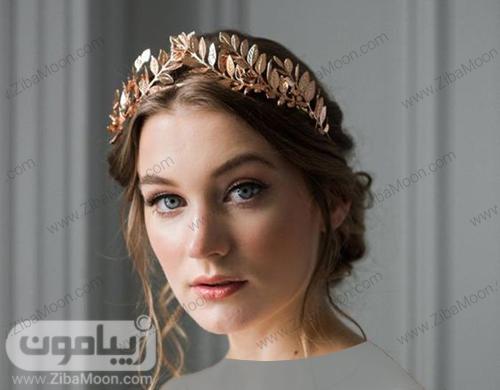 مدل تاج عروس فلزی