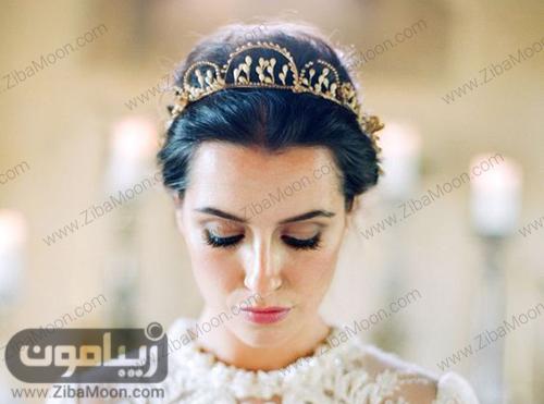 مدل تاج عروس دست ساز مرواریدی