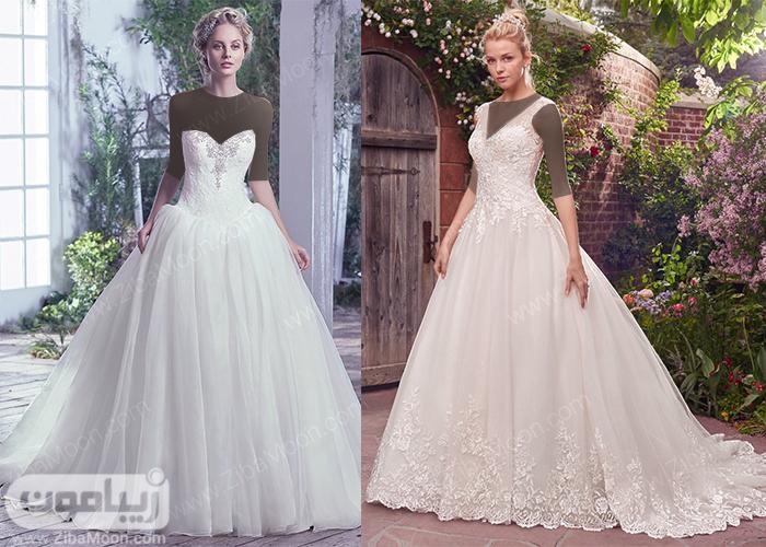 مدل لباس عروس اسکارلت پرنسسی