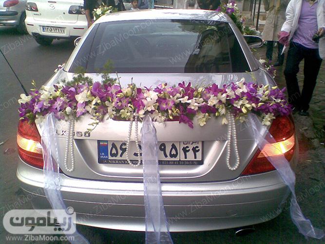 دیزاین شیک ماشین عروس