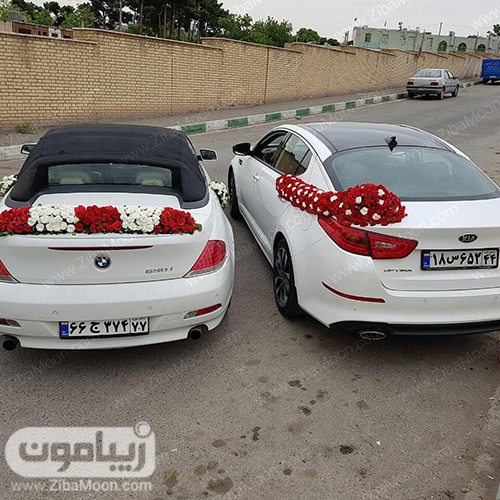 دیزاین ماشین عروس
