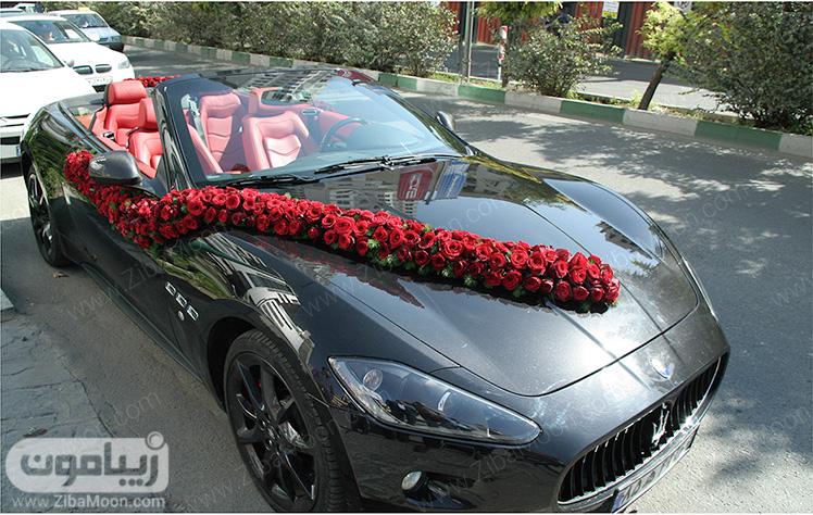 ماشین عروس شیک و زیبا