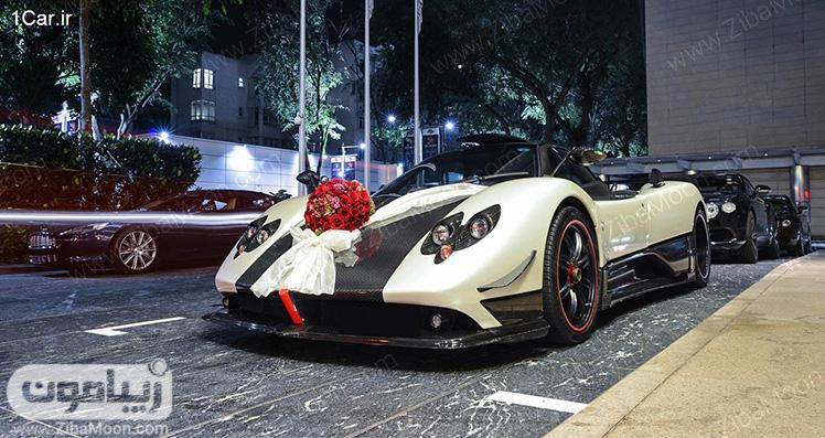 ماشین عروس لاکچری و خفن