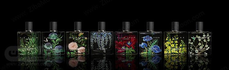 عطرها در زمینه سیاه