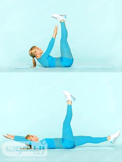 تمرین ورزشی برای لاغری شکم