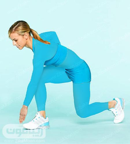 تمرین ورزشی برلی تخت شدن شکم
