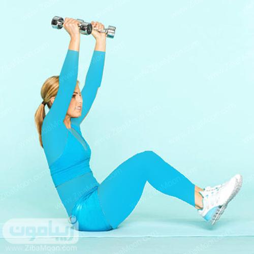 تمرین ورزشی برای صاف شدن شکم