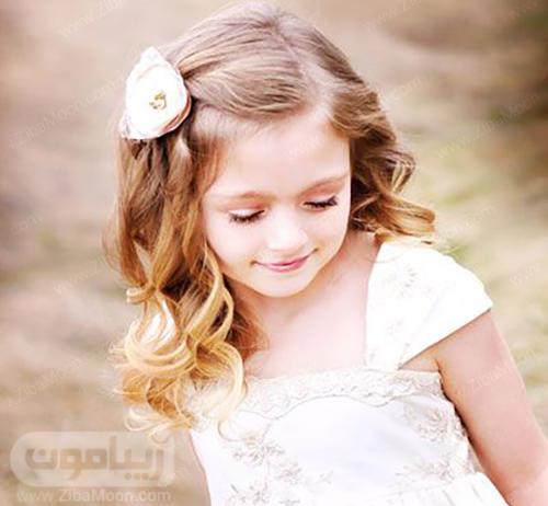 مدل مو دختر بچه زیبا برای عروسی