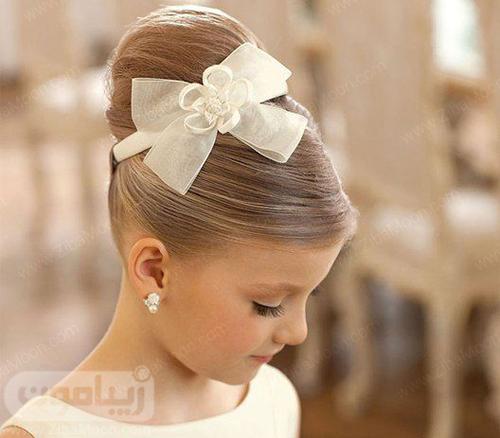 مدل مو زیبا و ساده برای دختر بچه ها