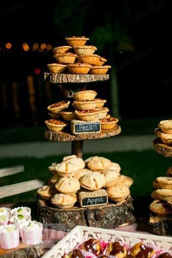 مدل شیرینی برای عروسی در فصل پاییز