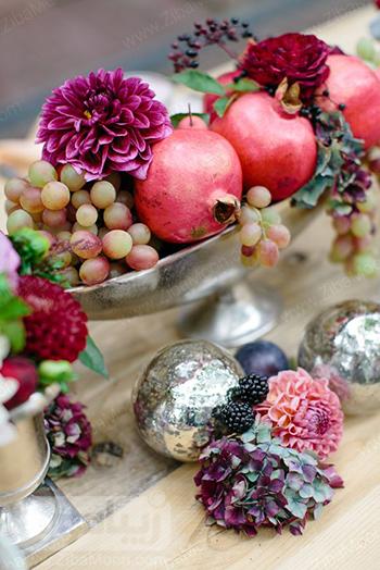 مدل میوه آرایی پاییزی