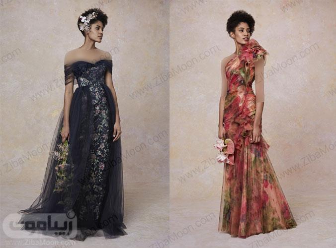دو مدل لباس مجلسی از کلکسیون ریزورت مارچسا 2019