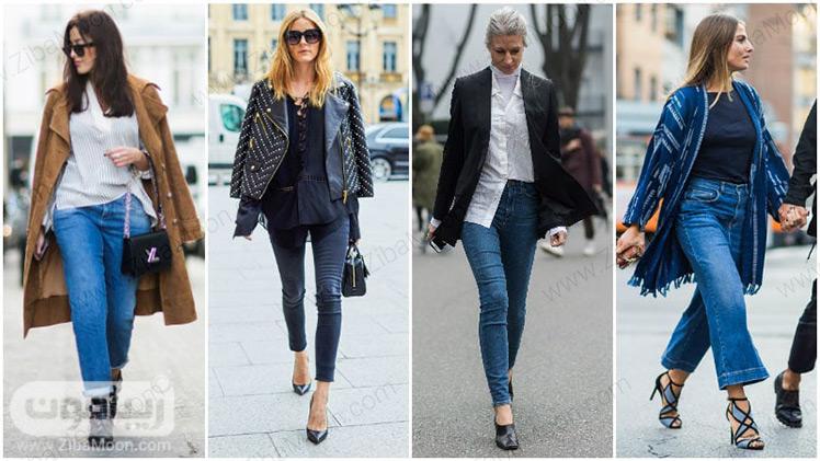 انواع شلوار جین زنانه