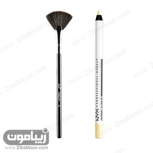 براش و مداد سفید