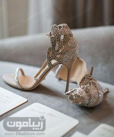 کفش عروس خاص و متفاوت