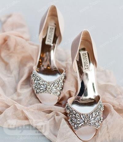 کفش عروس خاص و درخشان