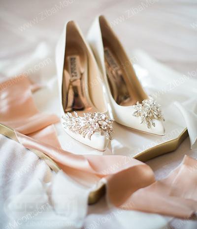 کفش عروس خیره کننده و زیبا