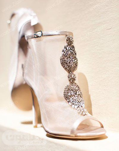 کفش عروس شیک و متفاوت