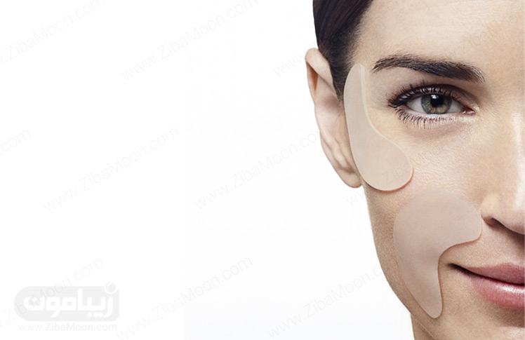 چسب ضد چروک پوست صورت و اطراف لب