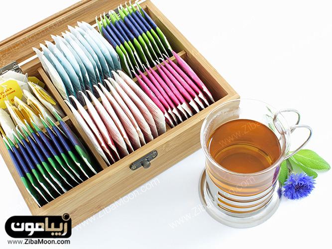 چای سیاه برای رنگ کردن مو