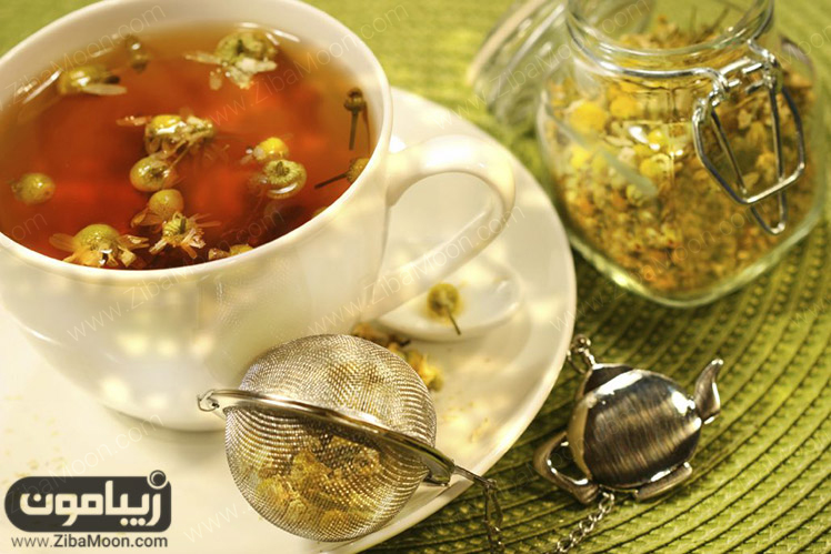 چای بابونه برای زیبایی پوست و مو