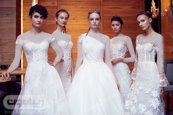 چند مدل لباس عروس