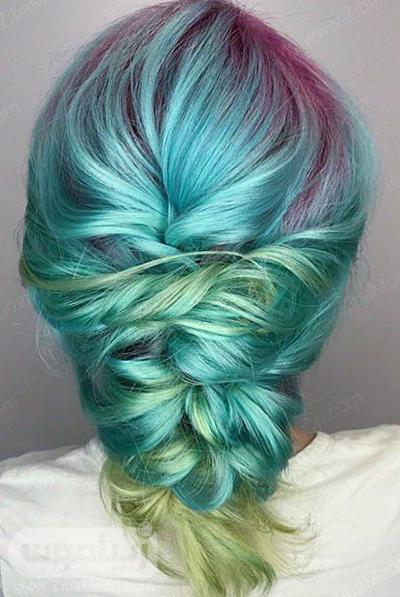 رنگ مو آمبره فانتزی