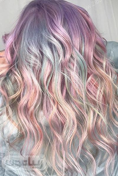 رنگ مو پاستیلی