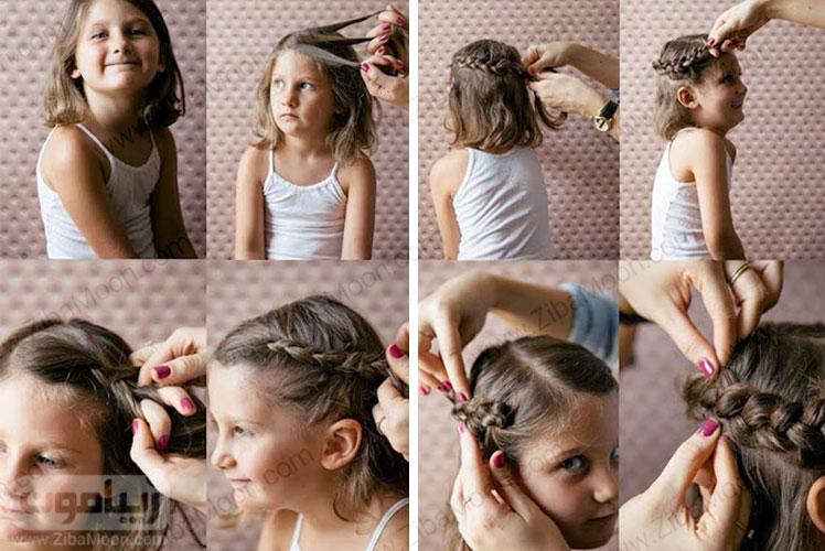 بافت مو فرانسوی تاجی
