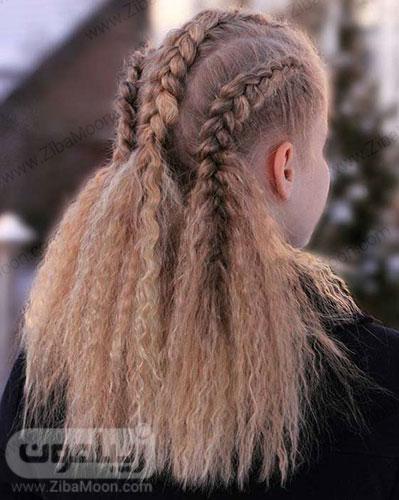 بافت مو وایکینگی