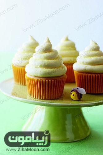 کاپ کیک لیمو-عسل