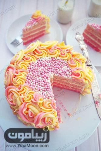 کیک لیمونادی آمبره