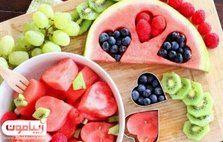 دیزاین میوه ولنتاین